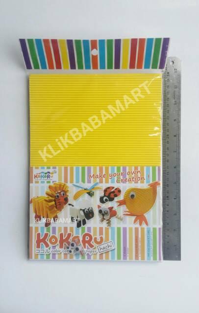 Prakarya Dari Kertas : prakarya, kertas, Kertas, Warna, Prakarya, Kerajinan, Tangan, Kokoru, Color, Corrugated, Paper, Shopee, Indonesia