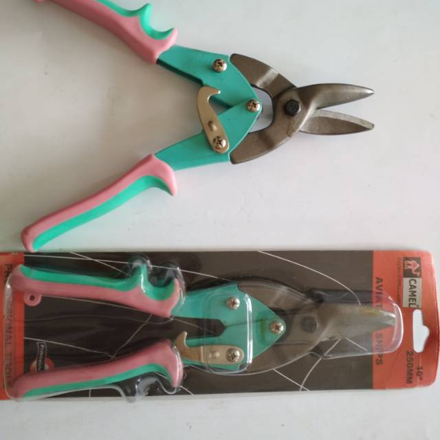 gunting holo camel aviation snips shopee indonesia