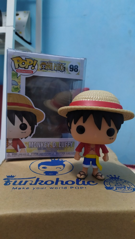Luffy (funko pop!) από την anime σειρά one piece. Funko Pop Animation One Piece Monkey D Luffy 98 Shopee Indonesia