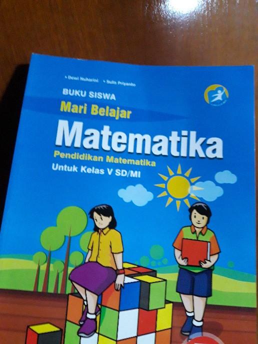 Soal uas 1 penilaian akhir semester kelas 4 tema 5 kurikulum 2013 ini dapat menjadi. Buku Mari Belajar Matematika Kelas 5 Sd Mi Usaha Makmur Shopee Indonesia