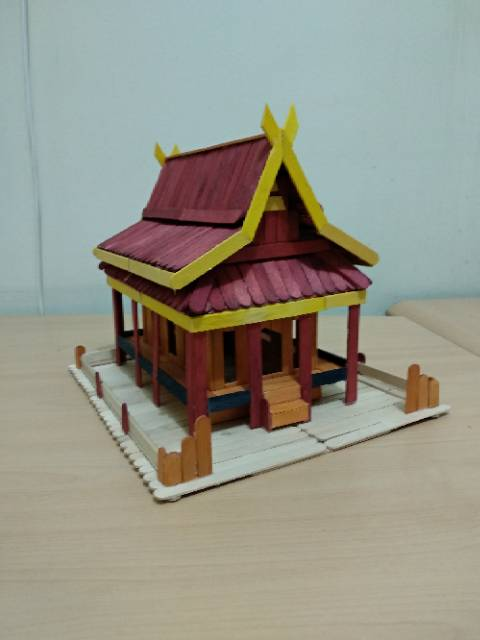 Maket Rumah Sederhana : maket, rumah, sederhana, Prakarya, Maket, Miniatur, Rumah, Shopee, Indonesia
