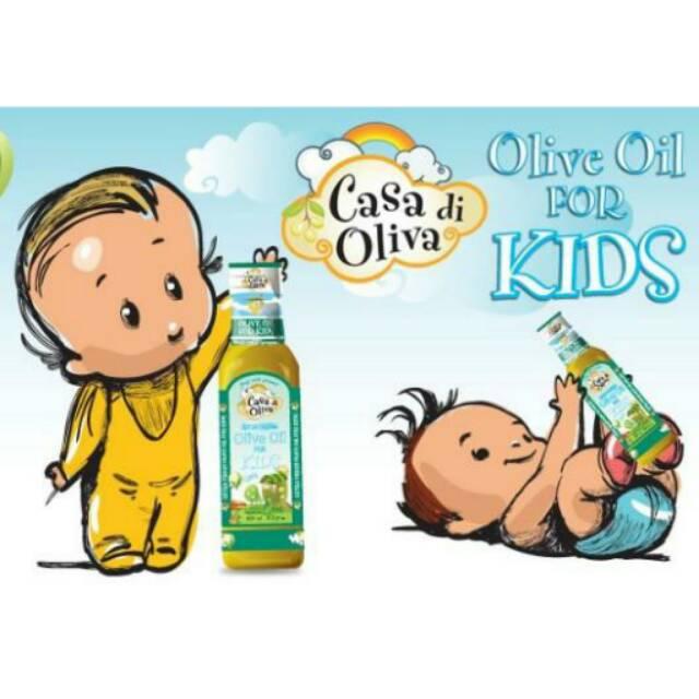 Casa di Oliva  Olive Oil for Kids  Shopee Indonesia