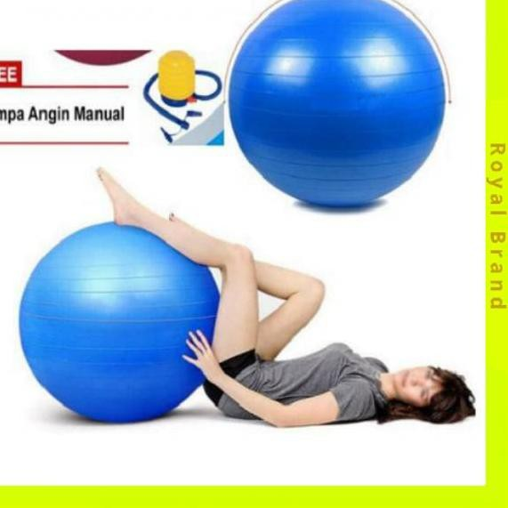 Z 805 Rb Gym Ball Bola Untuk Yoga Ibu Hamil Fitness Olahraga Birthball Birth Ball Free Gratis Pompa Shopee Indonesia