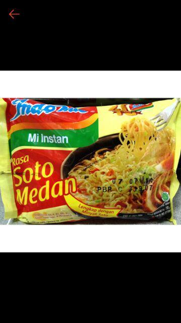 Indomie Soto Medan : indomie, medan, Indomie, Medan, Shopee, Indonesia