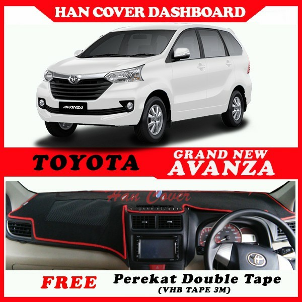 dashboard grand new avanza all kijang innova 2.4 v a/t diesel lux cover antislip shopee indonesia