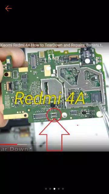 Skema Redmi 4a : skema, redmi, Konektor, Baterai, Xiaomi, Redmi, Dimesin, Battery, Board, Shopee, Indonesia