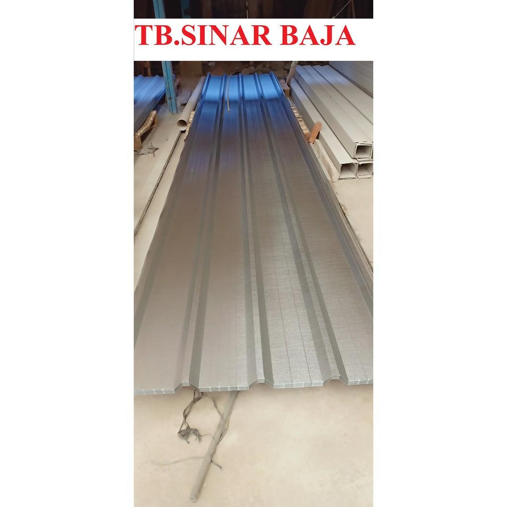 harga baja ringan per meter di bandung atap spandek 6 x 0 35 mm sni spandeck