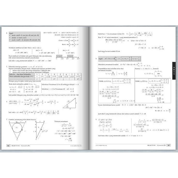 Jika sisa pembagian f ( x) oleh x 2 + x − 2 adalah s ( x), maka s ( 4) = …. Buku Soal Dan Pembahasan Simak Ui Matematika Ipa Complete Edition Kode 621 Shopee Indonesia
