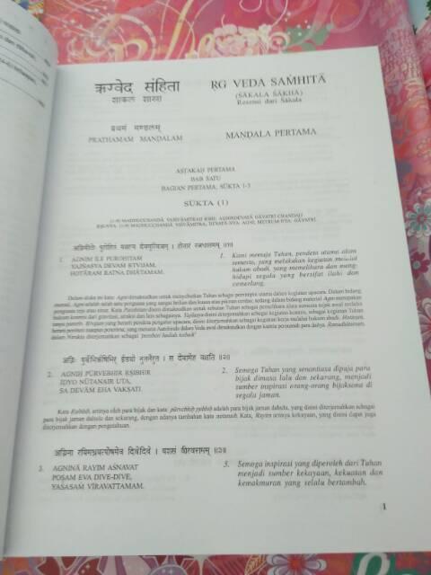Isi Kitab Regweda : kitab, regweda, Kitab, Samhita, Volume, Shopee, Indonesia