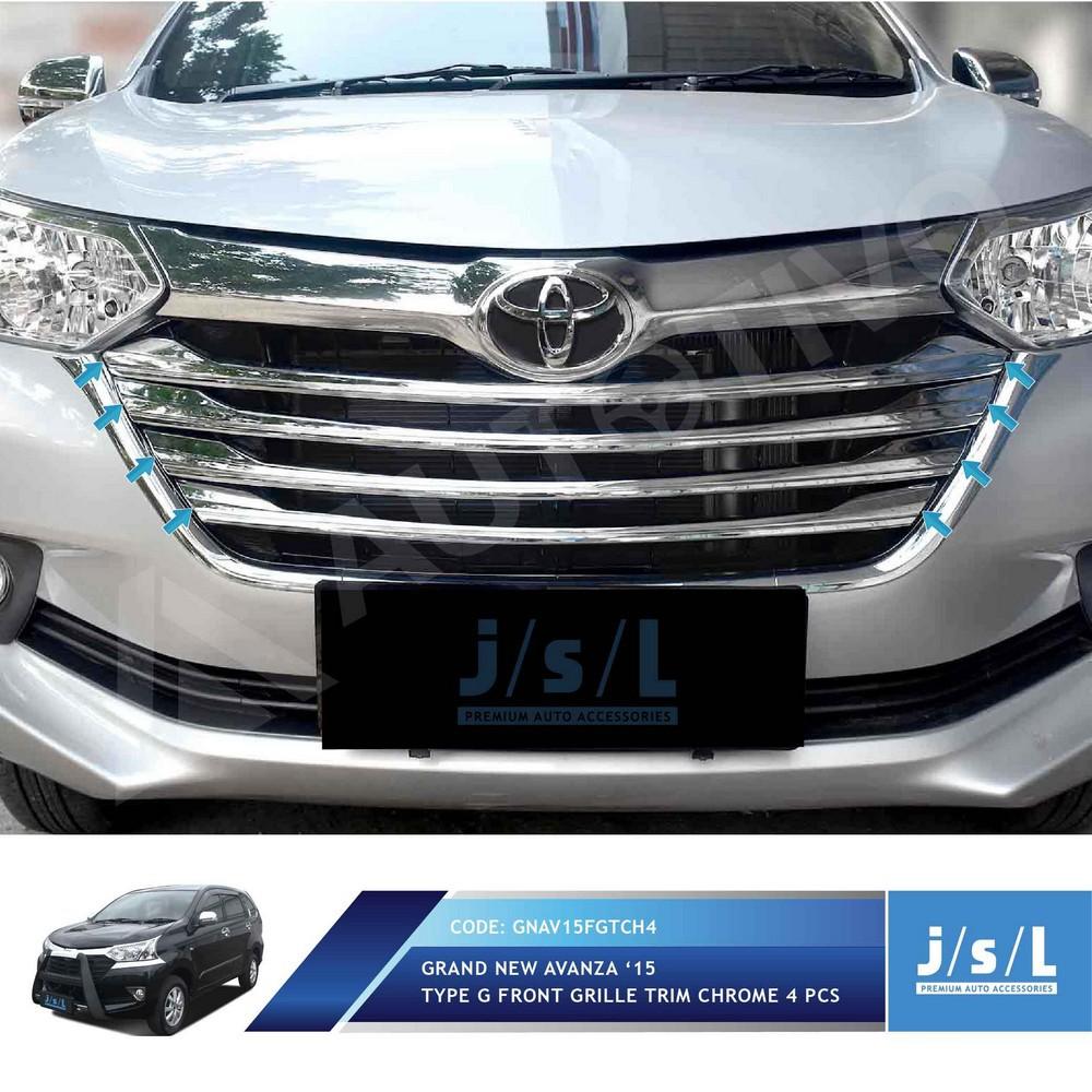 list grill grand new avanza veloz all camry hybrid 2019 depan bawah xenia r4 shopee indonesia
