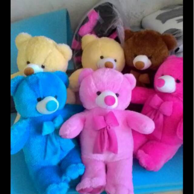 Boneka teddy bear lucu varian warna 80 CM silahkan pilih