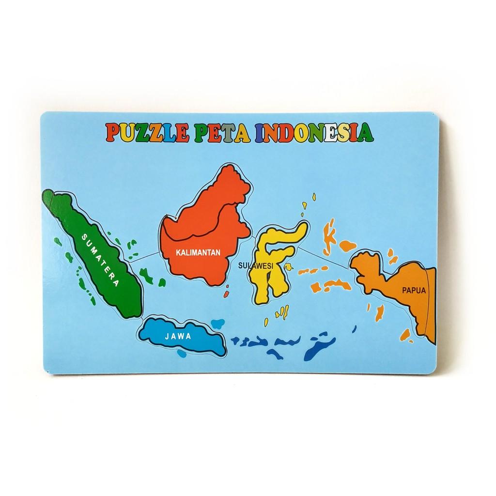 Peta indonesia animasi hitam putih peta indonesia animasi kartun peta indonesia animasi png vector peta indonesia animasi. Puzzle Kayu Edukasi Peta Indonesia Shopee Indonesia
