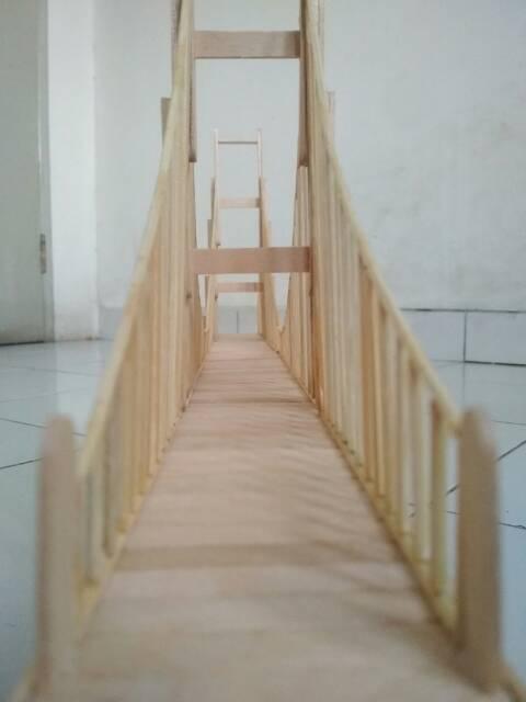 Jembatan Stik Es Krim : jembatan, Miniatur, Jembatan, Shopee, Indonesia