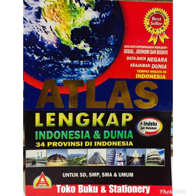 Berikut daftar nama provinsi di indonesia dan nama ibu kotanya: Buku Atlas Lengkap 34 Provinsi Indonesia Buku Peta Global Murah Shopee Indonesia