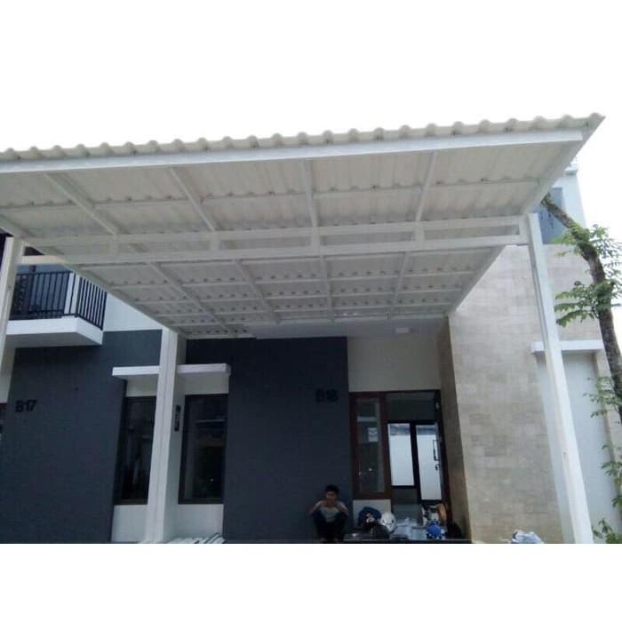kanopi baja ringan di cat atap sepandek shopee indonesia