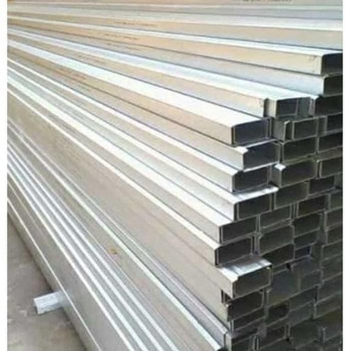 rangka plafon baja ringan minimalis c truss canal atap zinc alum 0 75 full sni