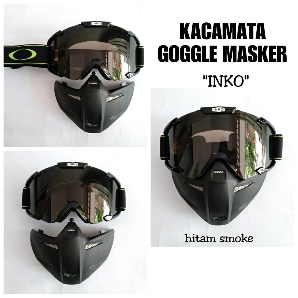 Google Masker Kacamata masker helm Kacamata masker motor
