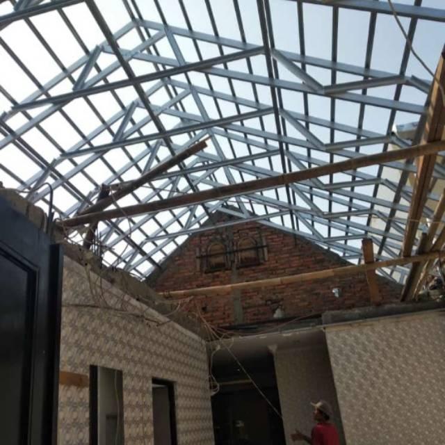 toko baja ringan jatiasih rangka atap dan bongkar pasang rumah 081311981213
