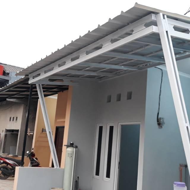 kanopi unik baja ringan bajaringan atap sepandek cat shopee indonesia