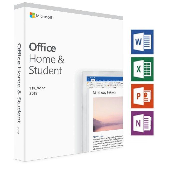 Microsoft Office Home and Student 2019 for Windows/Mac   Shopee Indonesia