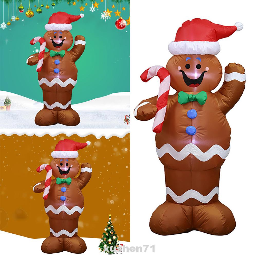 Inflatable Garden Cartoon Shopping Mall Led 1 5m Christmas Decorations Shopee Indonesia