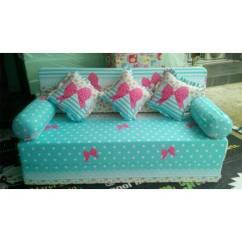 Sofa Bed Kasur Busa Lipat Inoac Jakarta Blue Sectional Ideas Sofabed P 200cm T 20cm Garansi 10 Th Shopee Indonesia