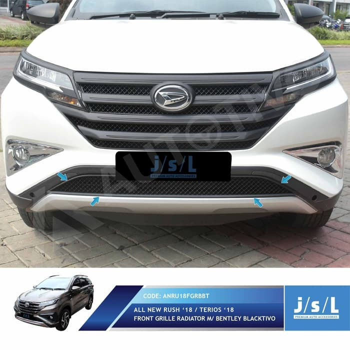 pelindung radiator grand new avanza the all corolla altis aksesoris mobil jsl grill rush 2018 hitam model bentley blacktivo shopee indonesia
