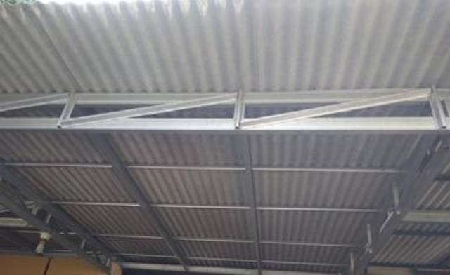 rangka baja ringan untuk atap asbes kanopi shopee indonesia