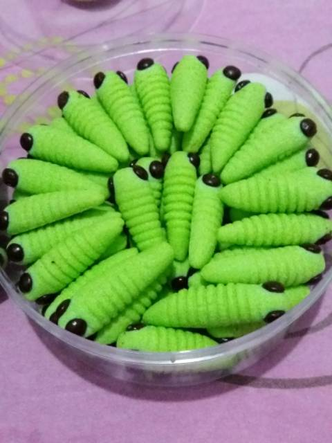 Resep Kue Kering Ulat Bulu : resep, kering, Kering, Shopee, Indonesia