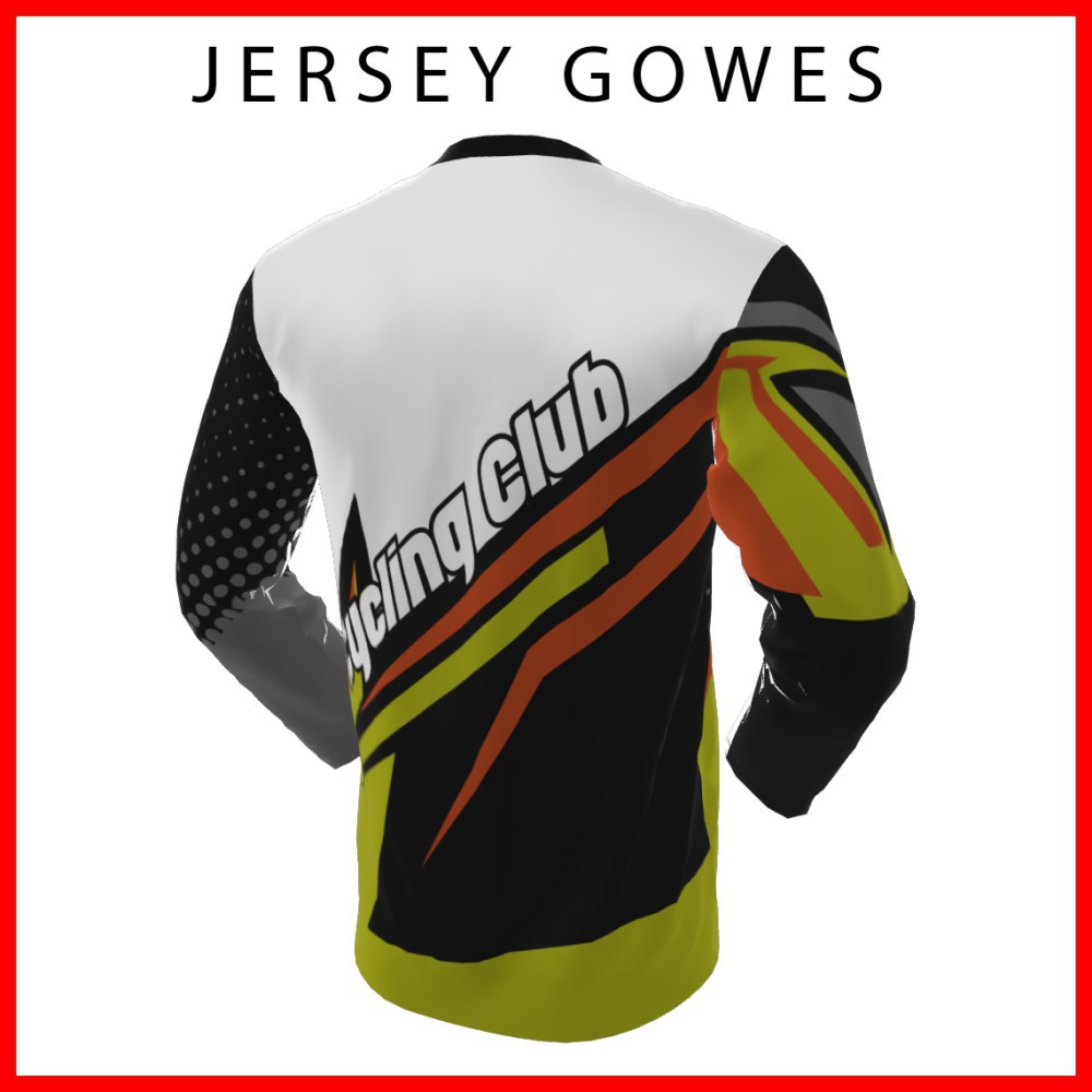 mockup polo shirt lengan panjang cdr Baju Kaos Jersey Sepeda Gowes Trail Downhill Balap Lengan Panjang 1067 Shopee Indonesia