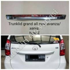 Trunk Lid Grand New Avanza Harga Yaris Trd Lis List Garnis Cover Trunklid Belakang Xenia Shopee Indonesia