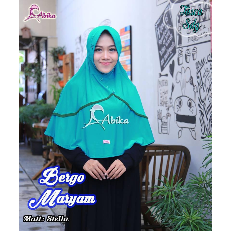 Untuk Anda Yang Mencari Abika Bergo Maryam Di Hari Ini 16 Hijab Ab 151 By