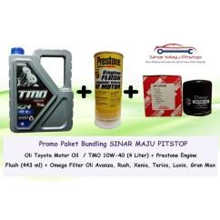 Oli Matic Grand New Avanza All Camry White Paket Ganti Toyota Castrol Magnatec Filter Prestone Engine Flush Original Shopee Indonesia