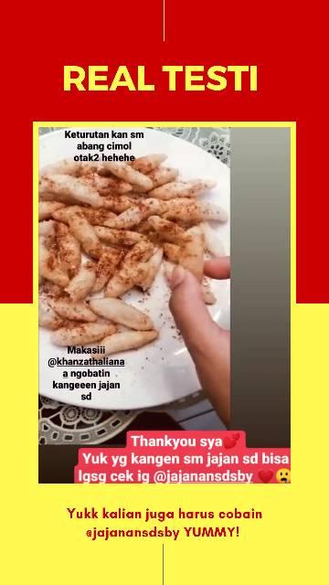 Resep Otak Otak Goreng Abang Abang : resep, goreng, abang, Otak-otak, Cimol, Shopee, Indonesia