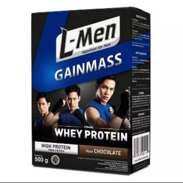 L Men Gain Mass 500gr Susu Whey Protein Lmen Gainmass Suplemen Fitness Susu Gainer Gym Shopee Indonesia