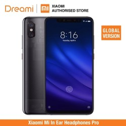 Global Version Xiaomi Mi 8 Pro 128GB ROM 8GB RAM Transparent Titanium (Official Rom)