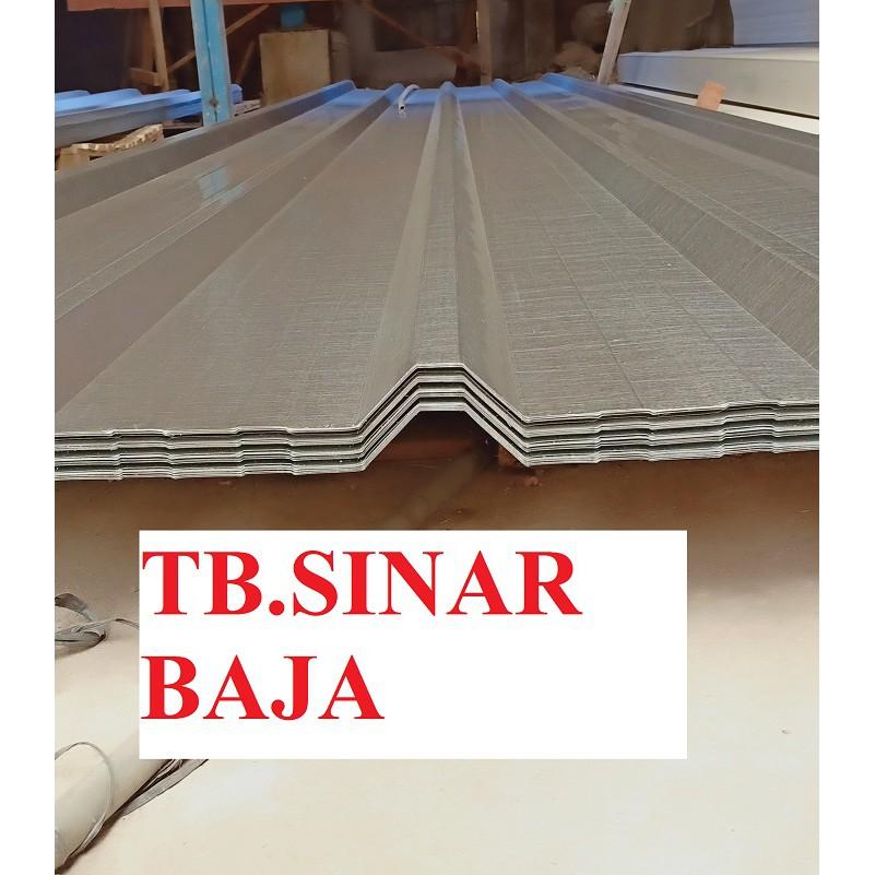 grosir baja ringan bandung atap spandek 6 meter x 0 35 mm sni spandeck