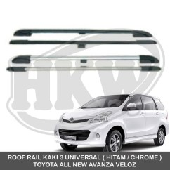 Roof Rail Grand New Avanza Veloz Suspensi Kaki 2 Universal Toyota All Shopee Indonesia