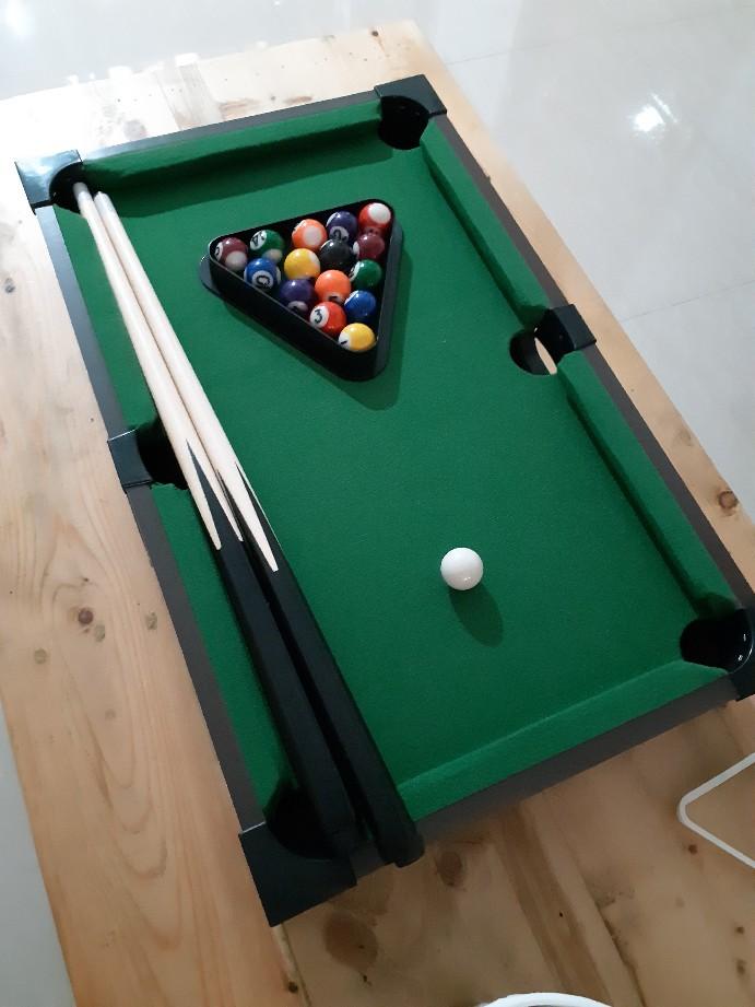 Ukuran Meja Billiard Mini : ukuran, billiard, Desktop, Billiard, Biliar, Table, Kecil, Mainan, Hijau, Shopee, Indonesia