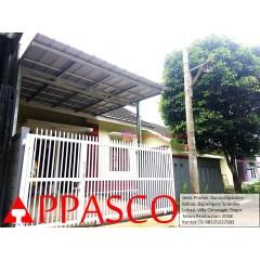 Kanopi Baja Ringan Bogor Bajaringan Atap Spandek Di Villa Cimanggir Shopee
