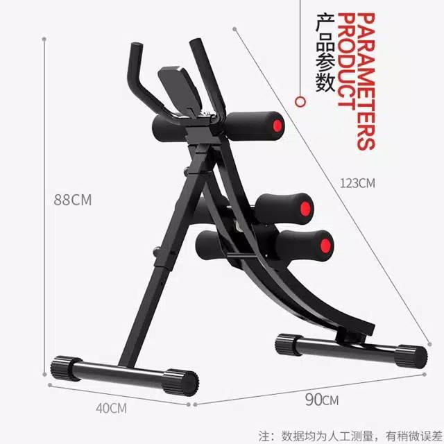 Abdomen Machine Abdominal Exercise Fitness Equipment Home Exercis 042 201 Shopee Indonesia