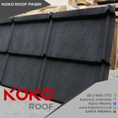 Harga Atap Baja Ringan Lapis Pasir Genteng Metal Minimalis Koko Roof Shopee Indonesia
