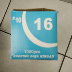 Harga Baut Baja Ringan 1 Dus Hot Sale Zolo 10x16 1dus Sekrup