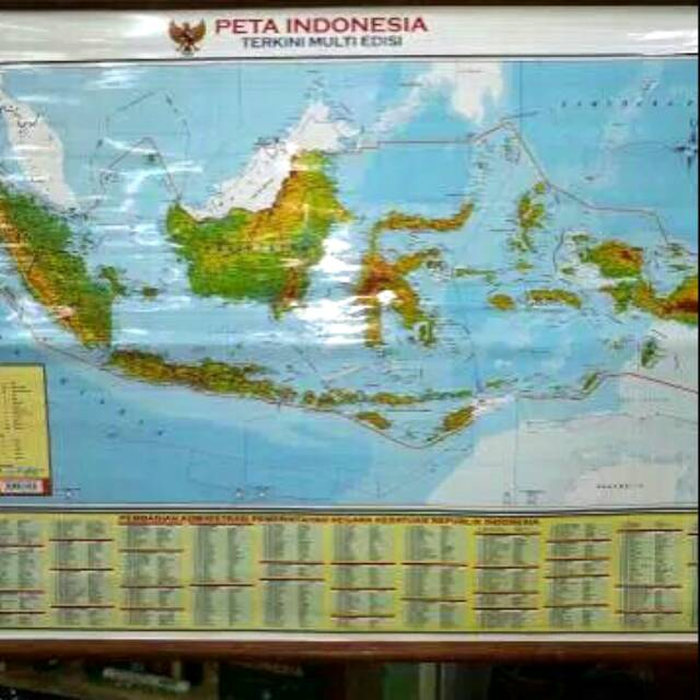03/09/2019· di artikel kali ini saya akan menguraikan mengenai ukuran keretas hvs (f4, a4, a5, a2, b5) dalam inchi dan cm. Peta Indonesia Terkini Multi Edisi Gantung Skala 1 6 000 000 Ukuran 102 72 Cm Shopee Indonesia