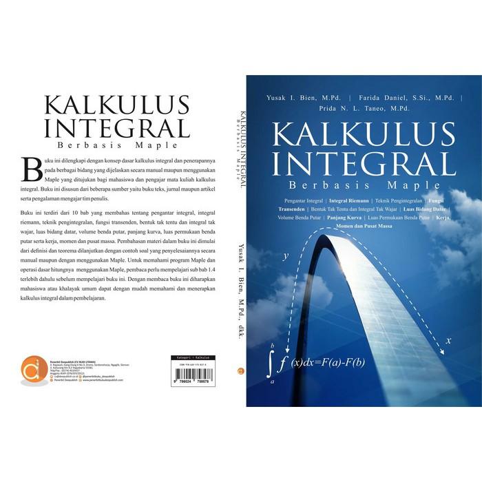 Integral pada daerah persegi panjang dan bukan persegi panjang contoh soal! Buku Kalkulus Integral Berbasis Maple Shopee Indonesia