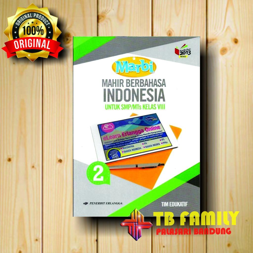 Who is receive the greeting card? Buku Mahir Berbahasa Indonesia Smp Kelas 8 Penerbit Erlangga Shopee Indonesia