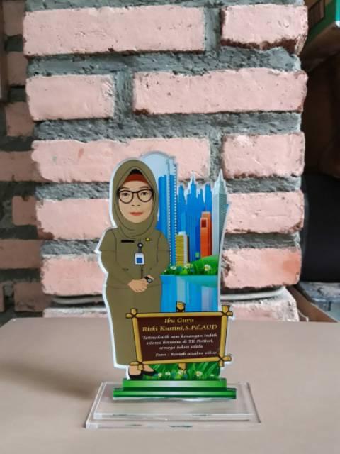 Kenang Kenangan Untuk Guru Tk : kenang, kenangan, untuk, Plakat, Akrilik, Formal, Penghargaan, Hadiah, Kenang, Kenangan, Shopee, Indonesia
