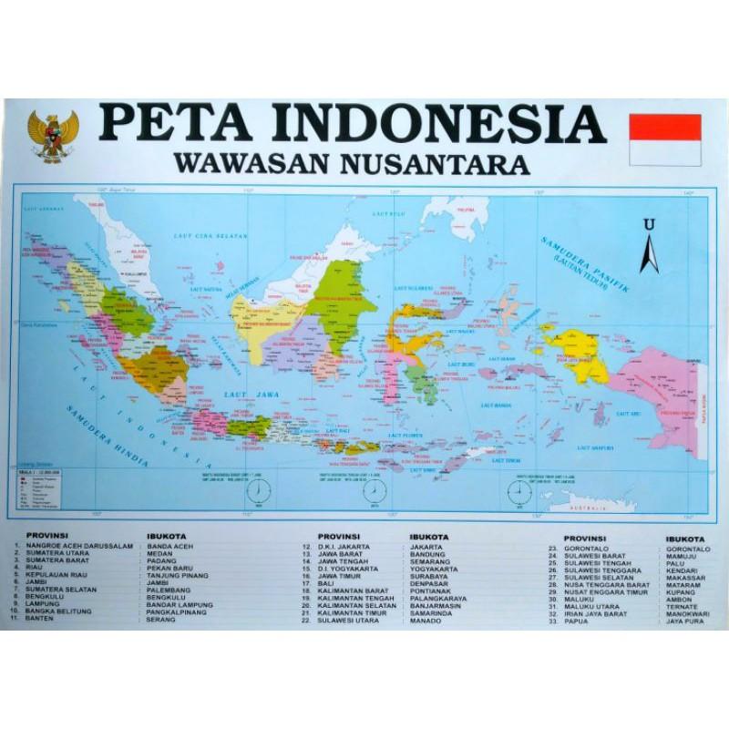 15/08/2021· koleksi 20+ mewarnai gambar peta indonesia untuk paud. Peta Indonesia Peta Negara Kesatuan Republik Indonesia Nkri Shopee Indonesia
