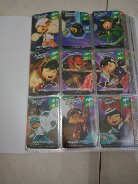 Kartu Boboiboy Galaxy : kartu, boboiboy, galaxy, Boboiboy, Galaxy, Complete, Shopee, Indonesia