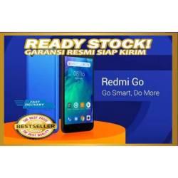 NEW Xiaomi Redmi Go 1/8 RAM 1GB 1 giga ROM 8GB 8 giga GARANSI RESMI TAM ASLI ORiGinal murah
